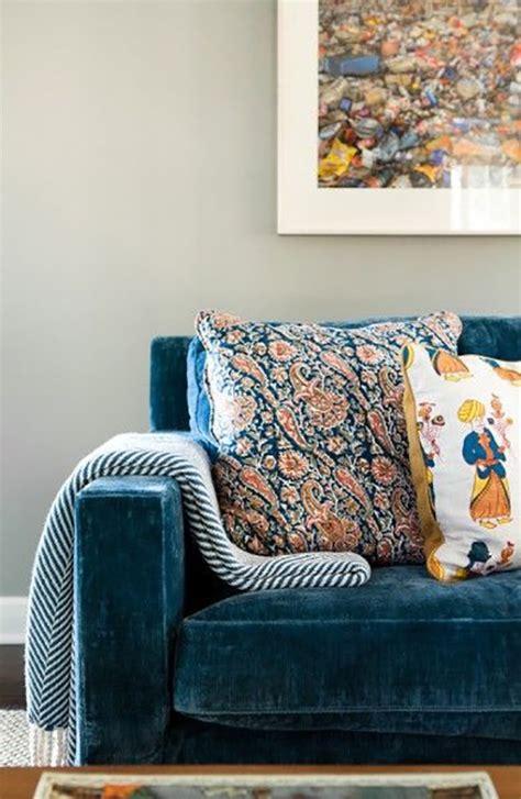 Best Blue Velvet Sofas Blog Roger Chris Velvet Modern Sofa