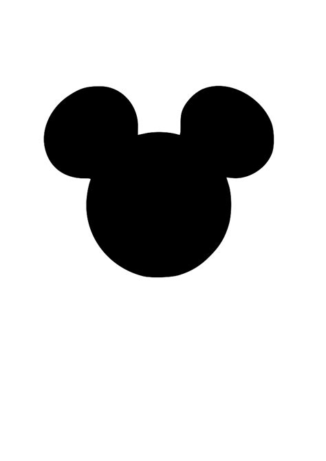 Mickey Mouse Silhouette Clip by Mickey Mouse Silhouette Clip 72