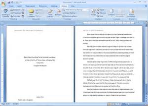 Image result for apa research paper writing with headings