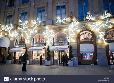 paris france luxury christmas lights shopping dubail
