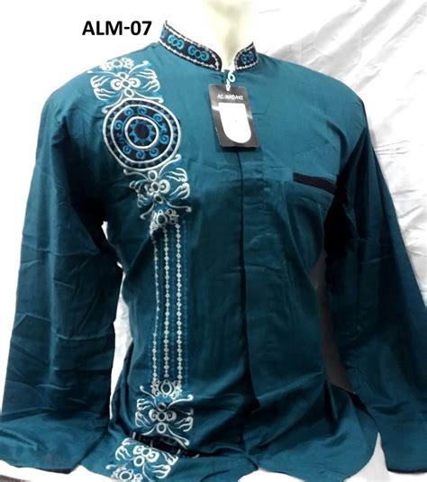Baju Koko Doby Panjang 12 warna baju koko al madani lengan panjang murah busanamuslimpria