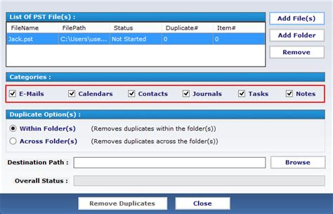 Outlook Duplicate Remover Tool to Delete Duplicate Emails ...