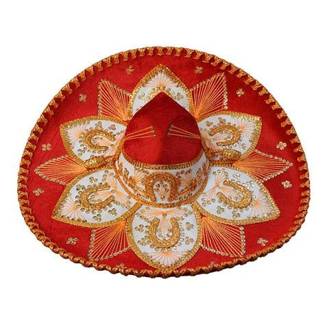 Metal Kitchen Canisters mexican sombreros collection red amp gold charro sombrero