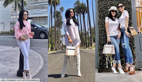 Tshirt Luar Negeri High Quality 10 style fashion artis saat berlibur di luar negeri nomor