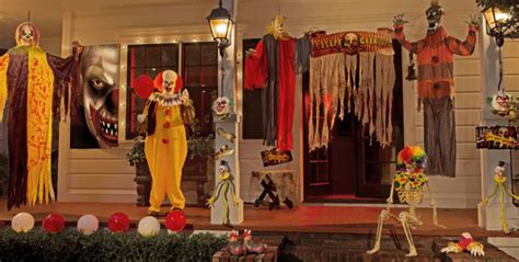 the scariest halloween decorations the house shop blog 20 cool and scary clown halloween decorations