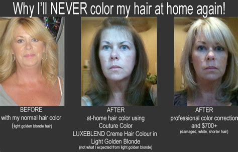 why i will never color my hair at home again beautiful