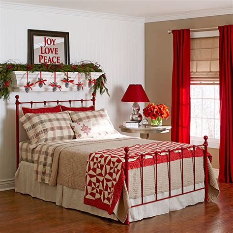 10 Christmas Bedroom Decorating Ideas Inspirations Decoration For Bedrooms