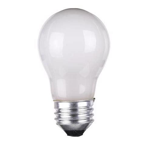 15 watt appliance light bulb 60 watt a 15 frosted appliance light bulb 15733 ls