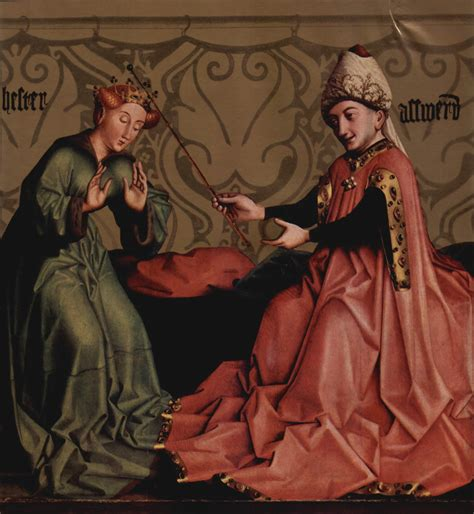 estera domian esther before ahasuerus c 1435 konrad witz wikiart org