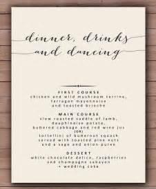 Wedding Menu Templates Free by Doc 585740 Dinner Menu Template 30 Free Word Pdf Psd Eps