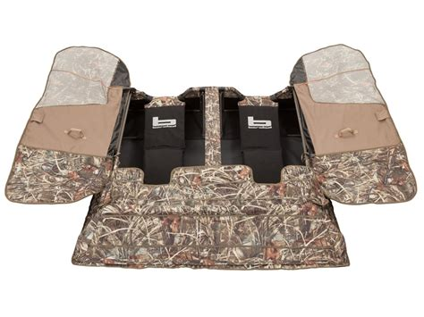 layout hunting gear banded two man layout blind polyester realtree max 4 camo