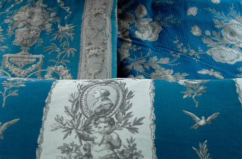 french fabric curtains chateau curtain panel antique french fabric in blue grey