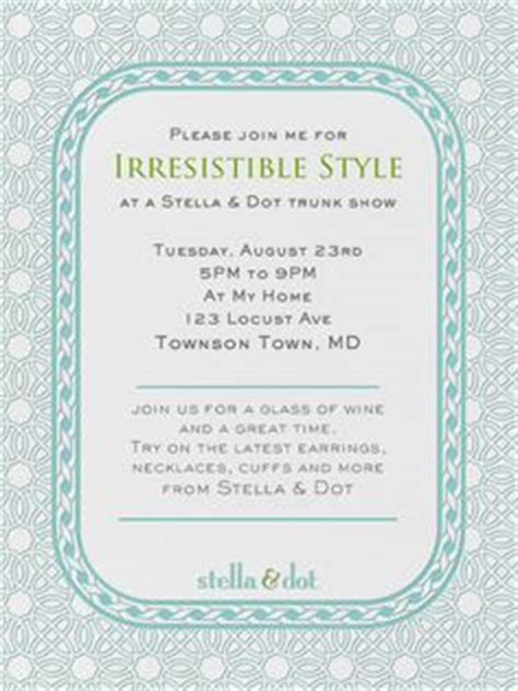 stella and dot invitation templates 1000 images about stella dot on stella dot
