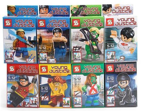 Lego Justice Sy250 Set Isi 8 1lot new justice mini figures blocks diy bricks