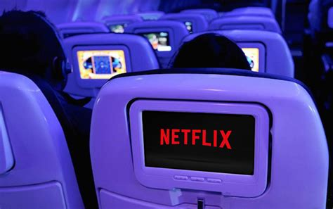 netflix flight netflix plans to help airlines better their in flight wi