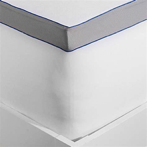 3 Inch Memory Foam Mattress Topper Buy Therapedic 174 Elite 3 Inch Lumagel Memory Foam Mattress Topper From Bed Bath Beyond