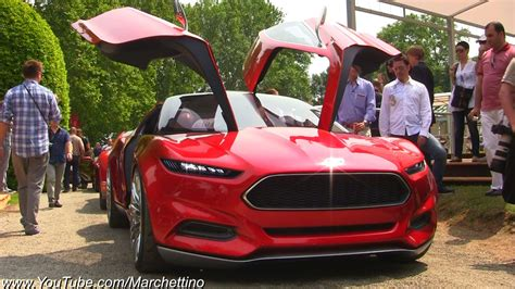 fb evos ford evos concept overview and driving shots youtube