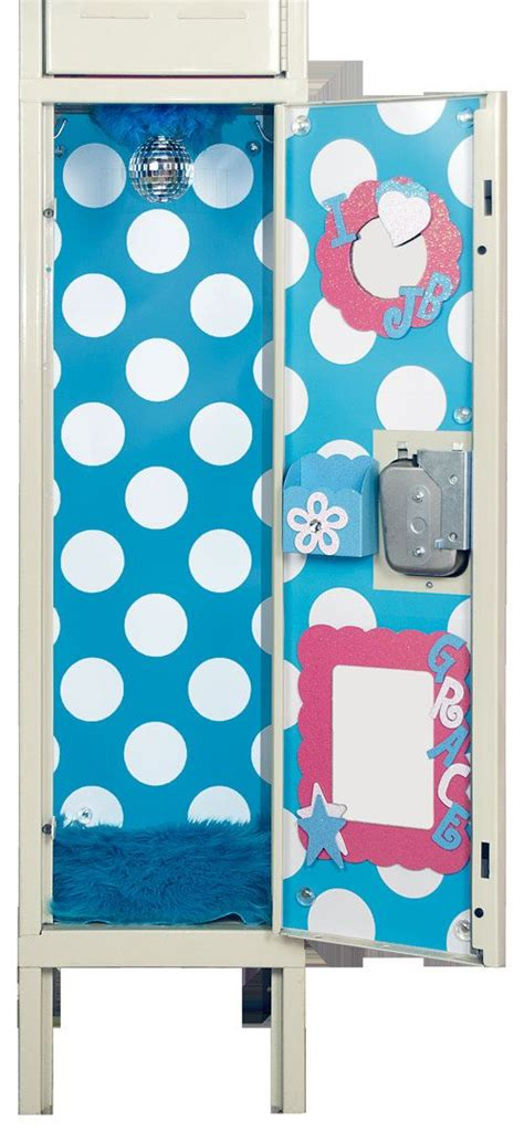 girly locker wallpaper turquoise blue white polka dot locker wallpaper by