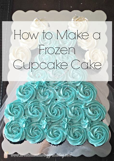 How To Make A Birthday Cake Out Of Paper - how to make a frozen cupcake cake sweet tea saving grace