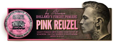Pomade Reuzel Pink pink reuzel grease heavy hold pomade by schorem