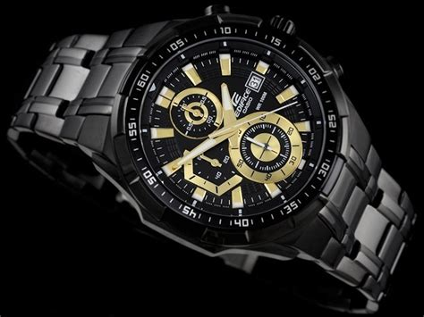 Casio Edifice Efr 539 Black casio edifice efr 539 black gold shop 苟盻渡g h盻