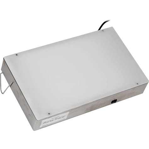 porta trace light box porta trace gagne 1118 1 stainless steel led light box