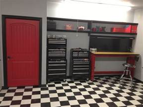 black and white checkered checkerboard sheet vinyl flooring for garages trailers kitchens