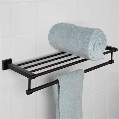 haskell towel rack bathroom
