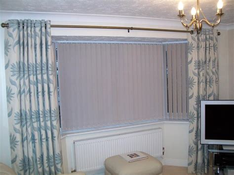 eyelet curtains on bay window curtains hereford