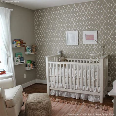 260 best images about nursery kid s room stencils on