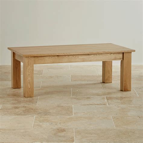 Solid Oak Coffee Tables Solid Oak Minimalist Coffee Table By Oak Furniture Land