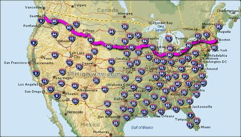 usa road map i 90 i 90 interstate 90 road maps traffic news