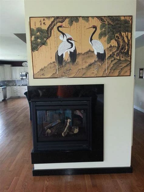 Black Fireplace Surround by Black Granite Fireplace Surround 3 Reflections Granite