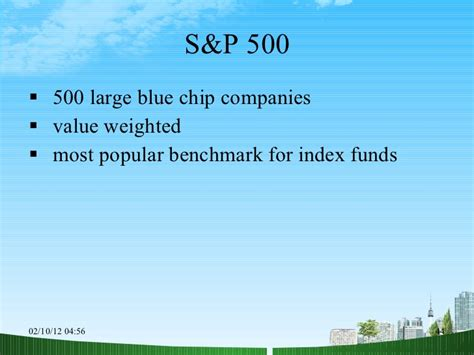 Blue Chip Mba by The Common Stock Market Ppt Mba Finance