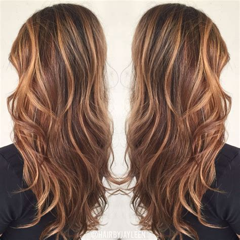 warm light brown hair color brown hair color caramel highlights caramel balayage