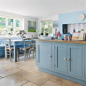 Country Kitchen Painted Cabinets Farrow And Dining Room Blue Farrow And Blue Stones Names Interior Designs