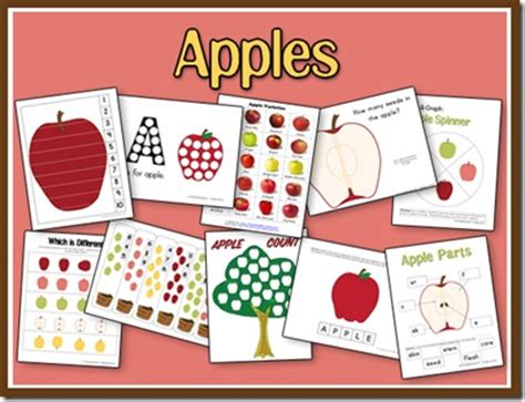 Parent Letter For Apple Unit 10 Apples Up On Top Preschool Spell Out Loud