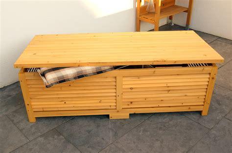 Holztruhe Garten by Holz Auflagenbox Kissenbox Gartenbox Gartentruhe Box Auflagen Truhe Holztruhe Ger 228 Teh 228 User