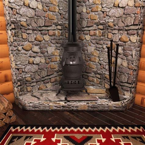 Fireplace.com, Vogelzang Cast Iron Railroad Potbelly Wood