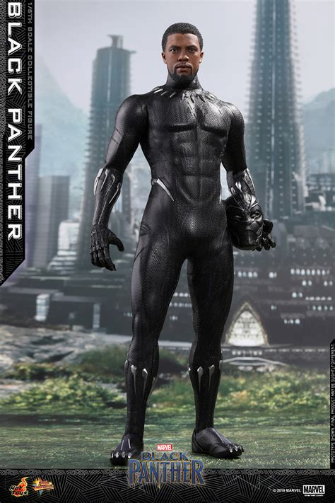 Toys Black toys 1 6th scale black panther plastic and plush