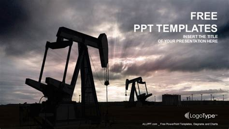 Powerpoint Templates Free Oil | oil pump jack powerpoint templates