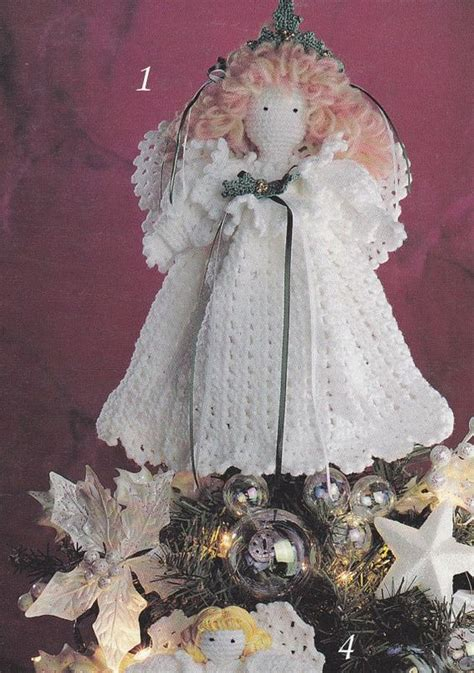 angel christmas tree topper pattern angels crochet patterns christmas tree topper christmas
