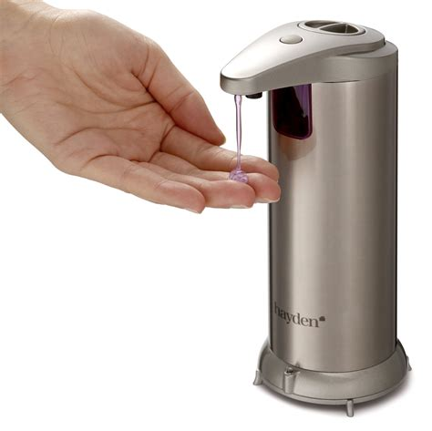 automatic soap dispensers for bathroom hayden premium automatic soap dispenser touchless perfect