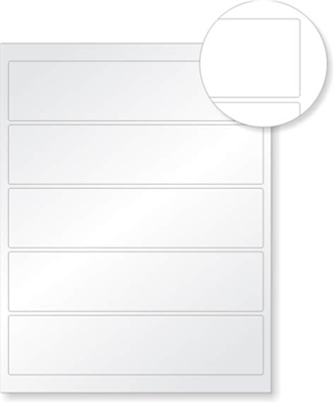 lg printable vinyl laser printable asset labels sku lzr at refl c