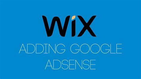 adsense on wix adding google adsense to your wix website wix com