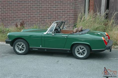 Green For Sale 1977 Mg 1500 In Brooklands Green Near Original