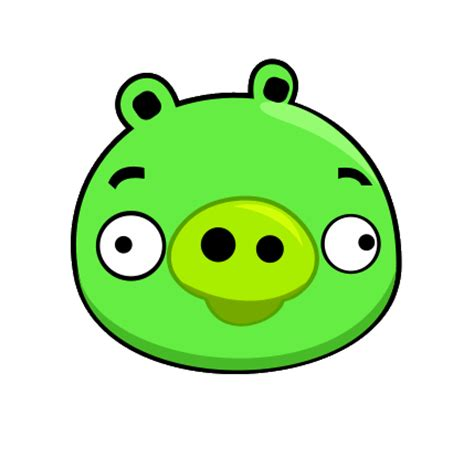 angry bird pig template a pig bad piggies angry birds bird
