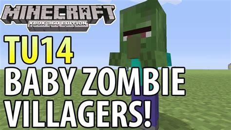 zombie villager tutorial minecraft xbox 360 ps3 tu14 update baby zombie