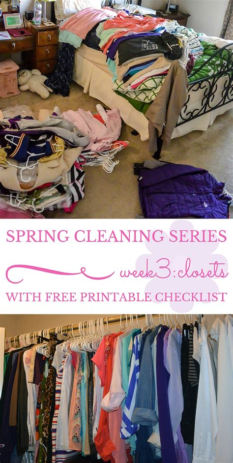 spring cleaning closet spring cleaning series week 3 closets