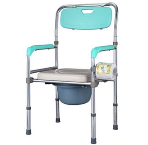 Portable Potty Chair For Elderly by Height Adjustable Elderly Seat Commode Chair Portable